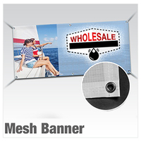 MESH Banner 2ft x up to 10ft