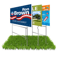 Full Color Lawn Signs 18H x 24W Set of 10